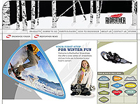 Redfeather Snowshoes Web Site